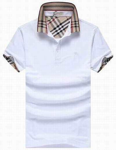Pas polo t Blanc Cher Shirt Burberry London V Polo Casse Col QrCohdtxBs