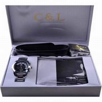 coffret ceinture portefeuille homme,coffret montre ceinture,coffret cadeau ceinture  portefeuille 2249a5fbd87